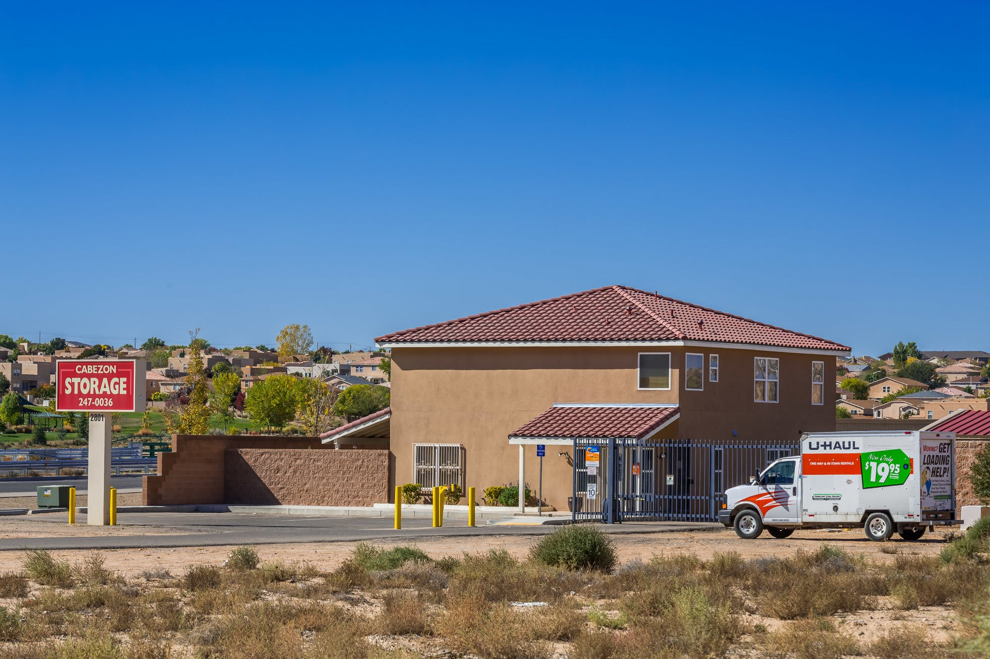 Self storage for all of your needs in Rio Rancho, NM