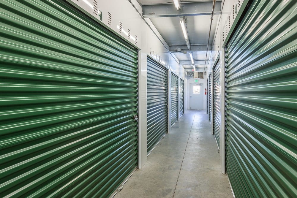 Interior self storage units located in Blaine, WA