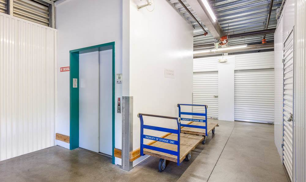 Self storage in Renton has clean interior units