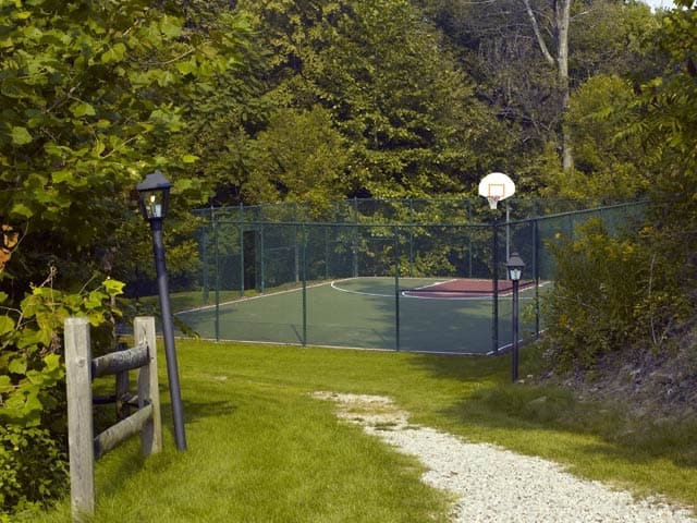 A tennis court is onsite for your enjoyment at Highlands of Montour Run!