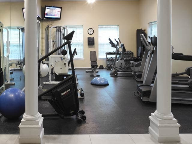 Stay fit at the gym at Highlands of Montour Run
