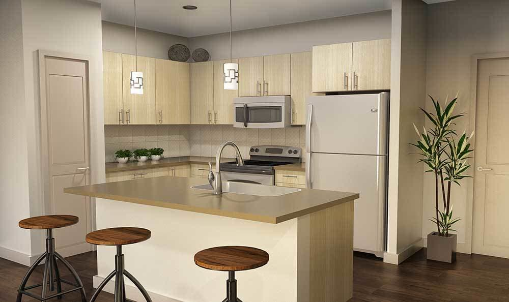 Admire the elegance of our affordable apartments at Fairview at Town Center.