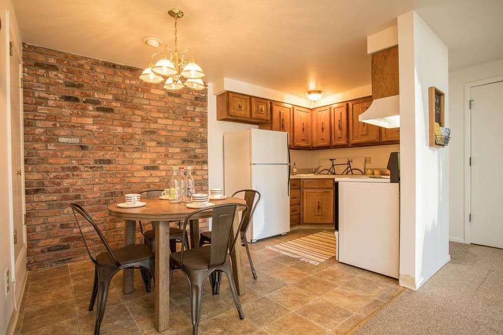 Nice clean kitchen in our Cheektowaga, NY apartments