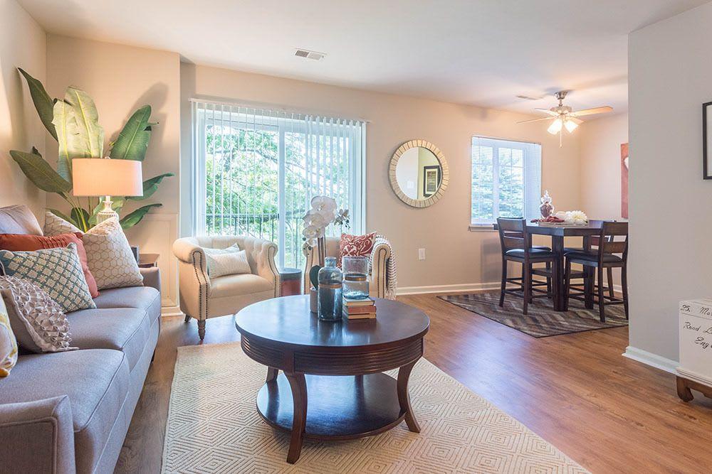 Nice hardwood floors in our Harrisburg, PA apartments