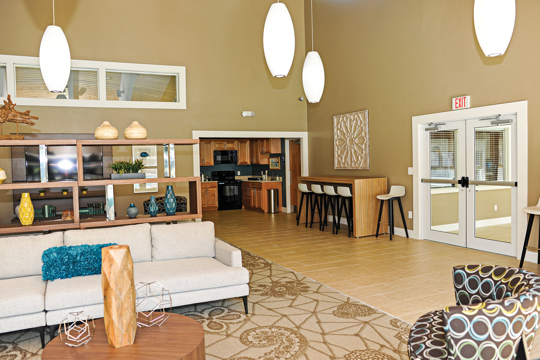 Our Brand New Community Center at Penbrooke Meadows Apartments in Penfield, NY