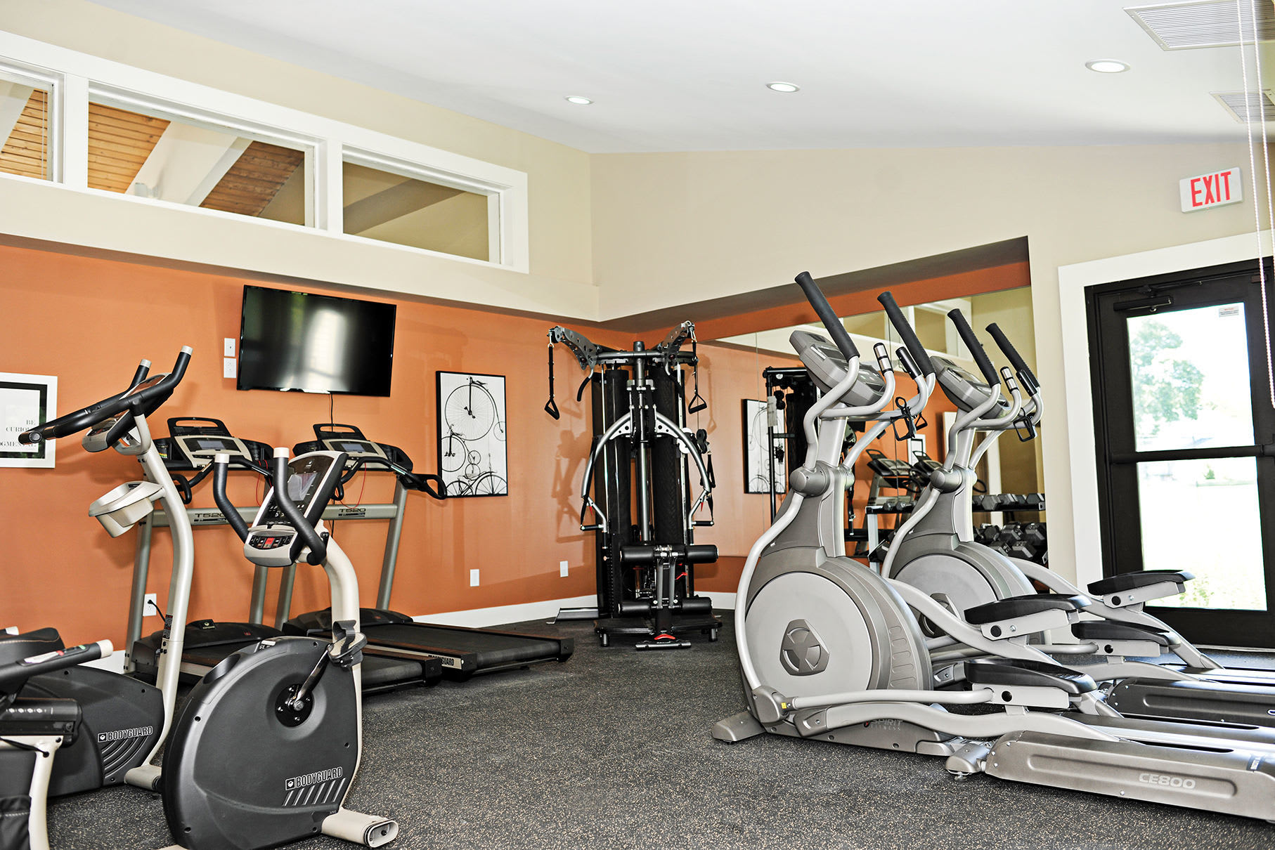 Our Brand New Fitness Center at Penbrooke Meadows Apartments in Penfield, NY