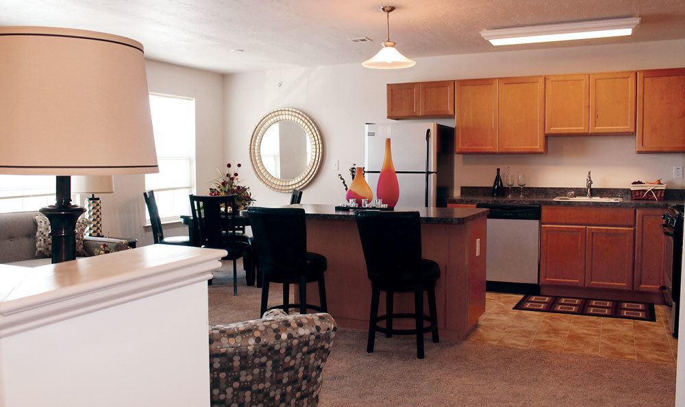 Spacious floor plans at the apartments for rent in York