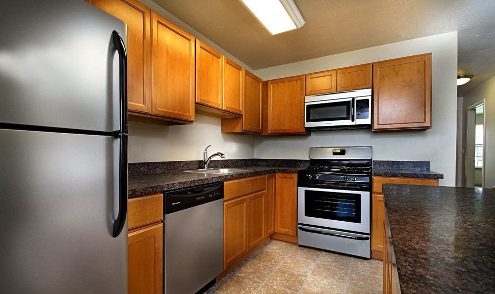 Modern appliances at apartments in York