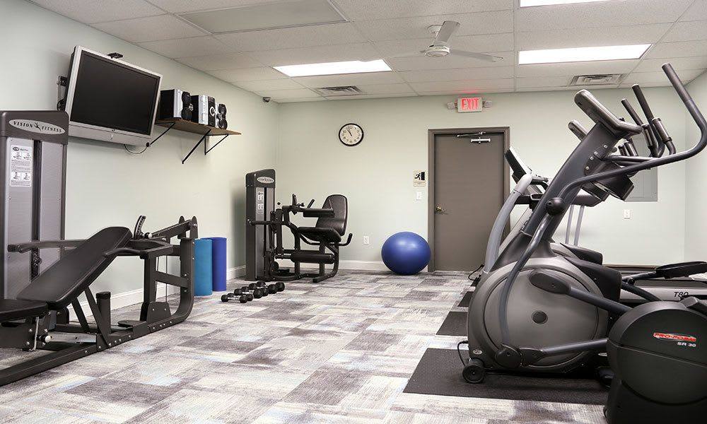Another angle of our fitness center at The View at Mackenzi