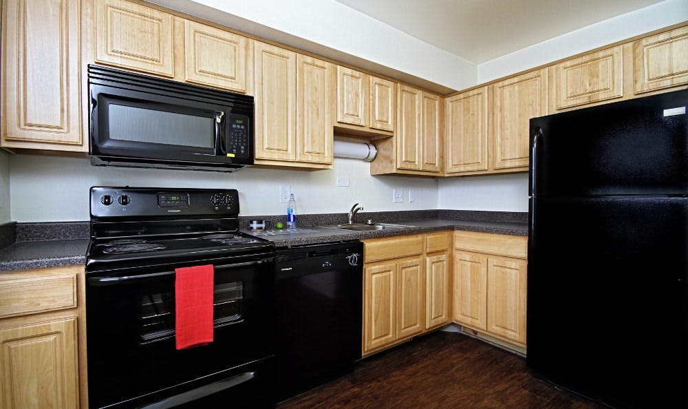 Kitchen at The Village of Laurel Ridge in Harrisburg