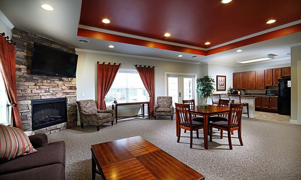 Harrisburg apartments includes a clubhouse