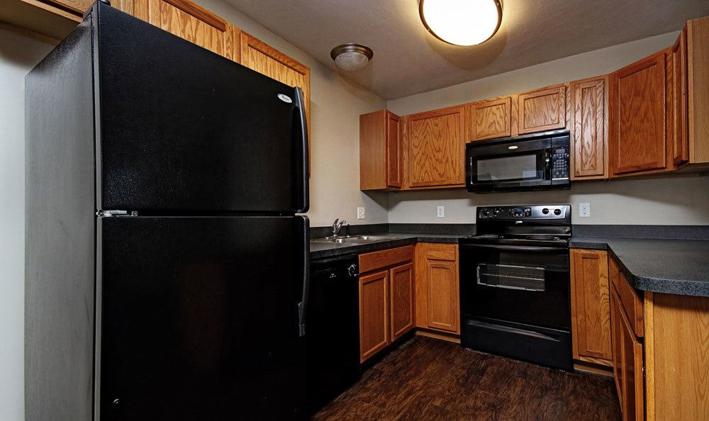 Spacious kitchen in our Red Lion, PA apartments