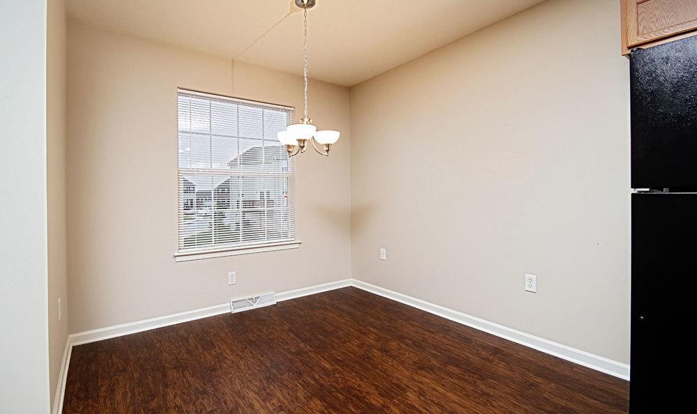 Dining Room at Lion's Gate Townhomes