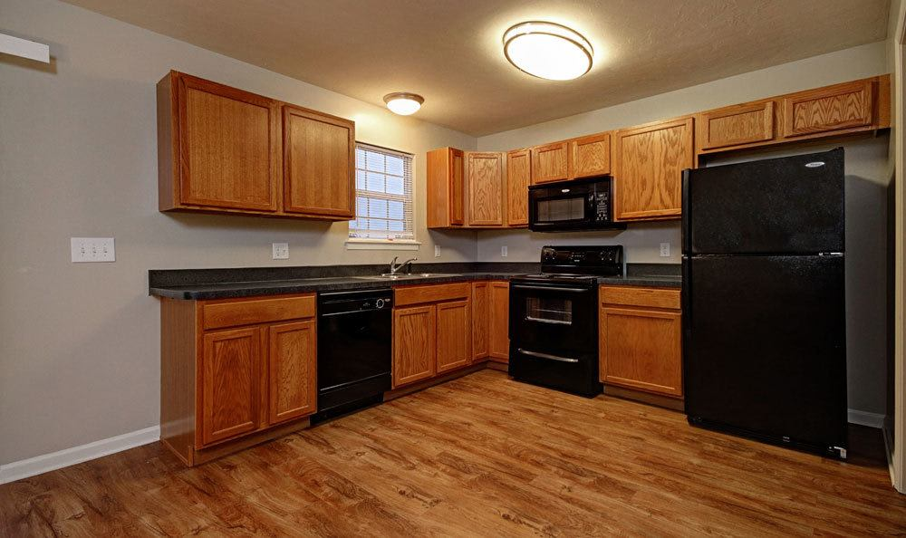 Nice hardwood floors in our Red Lion, PA apartments