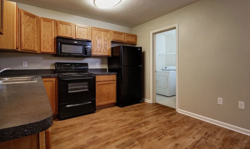 Nice clean kitchen in our Red Lion, PA apartments