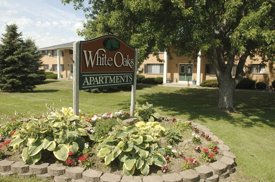 apartments in Webster front entrance