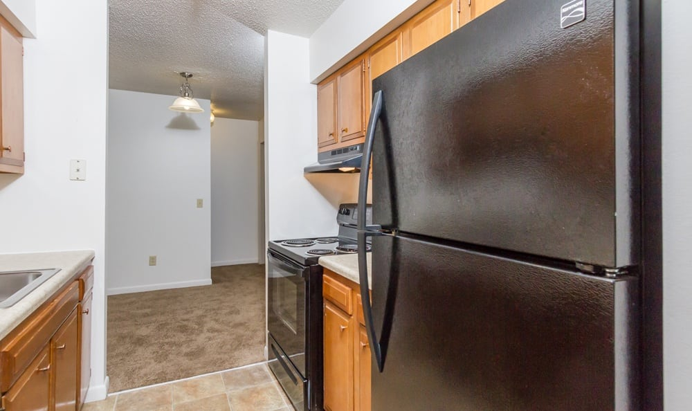 Kitchen at Creek Hill Apartments in Webster, NY