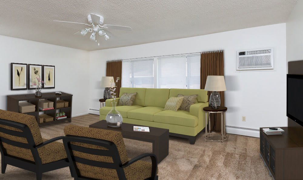 Spacious floor plans at the apartments for rent in Webster