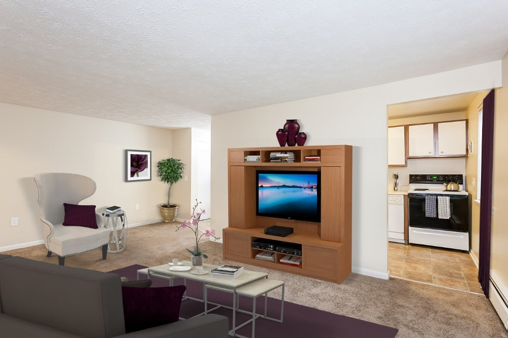 Apartment with spacious Living Room at Brockport NY