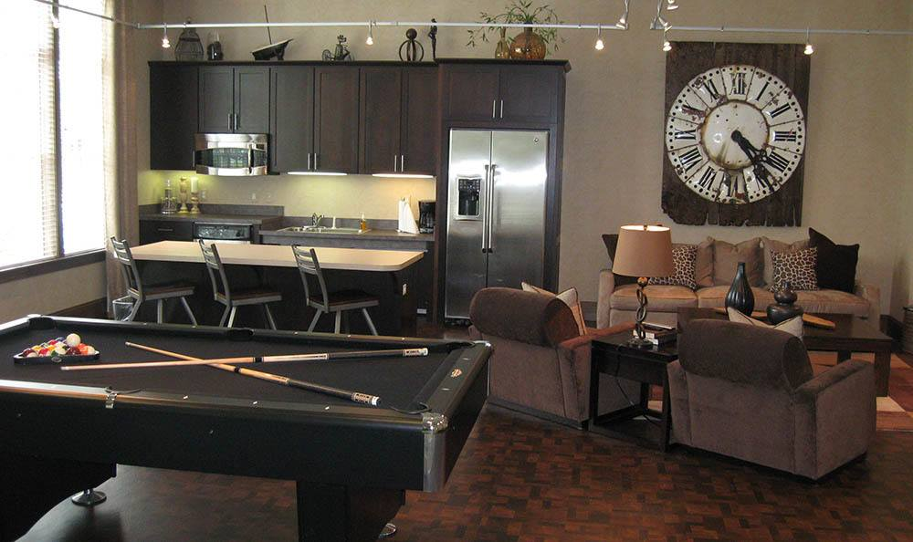 Game Room at apartments in Toledo