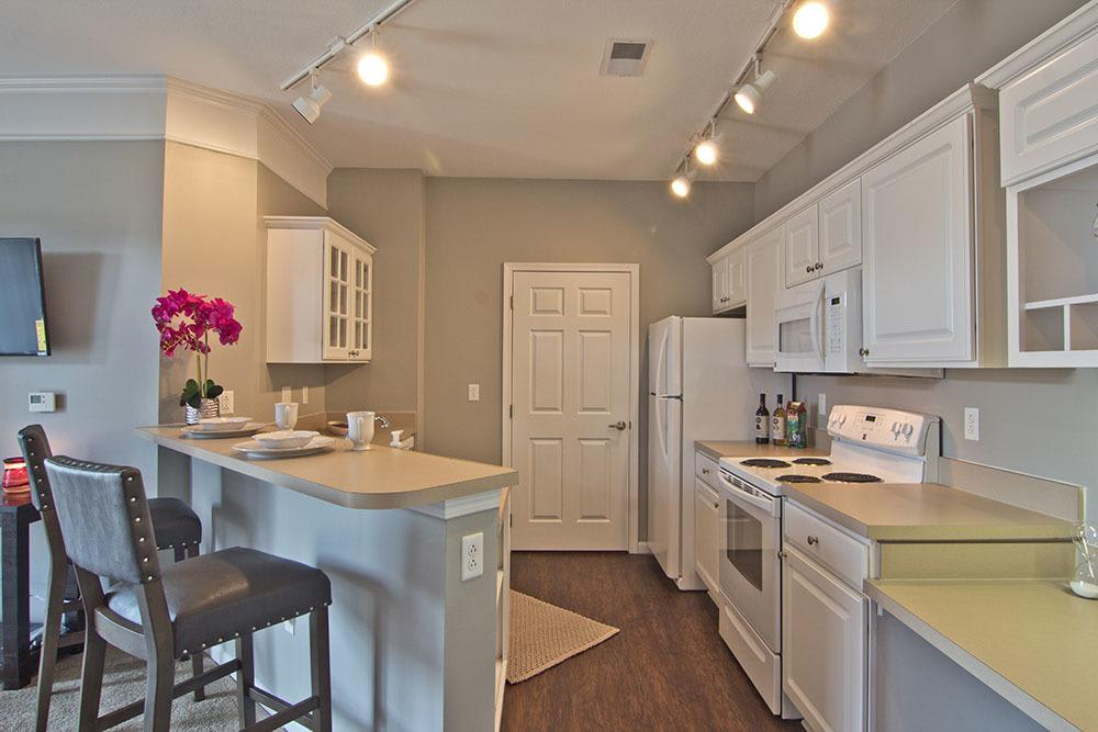 Beautiful kitchen at Chelsea Place in Toledo, OH
