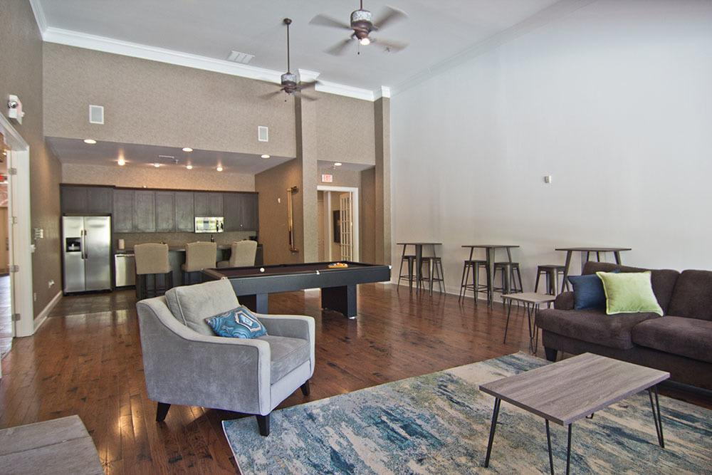 A living room that is great for entertaining at Preston Gardens in Perrysburg, OH