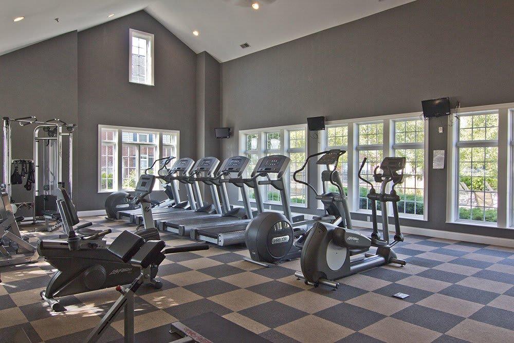 Beautiful fitness center at Preston Gardens in Perrysburg, OH