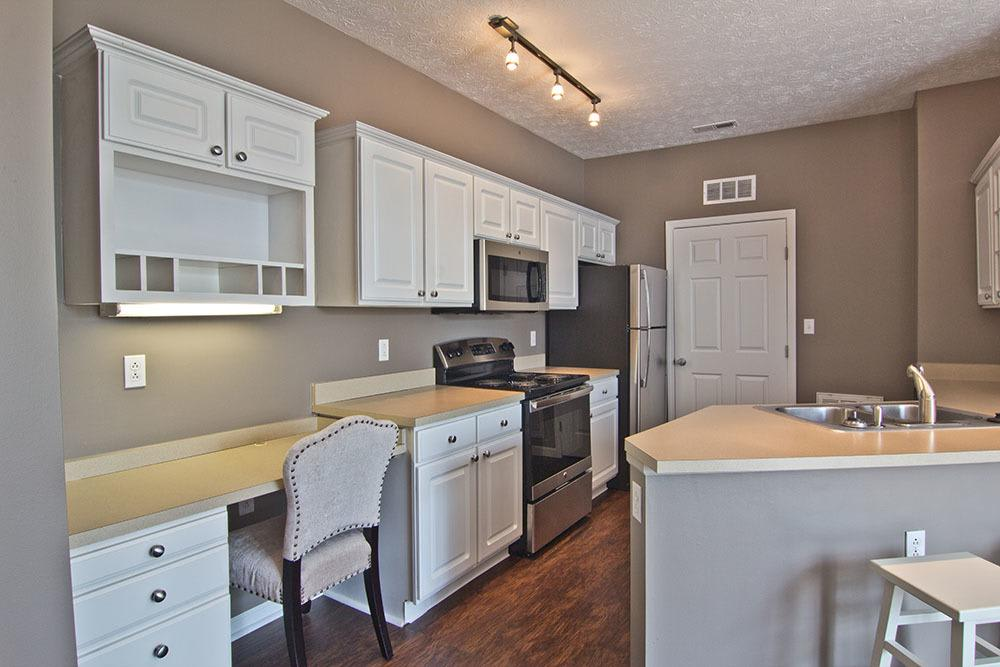 Spacious kitchen at apartments in Perrysburg, OH