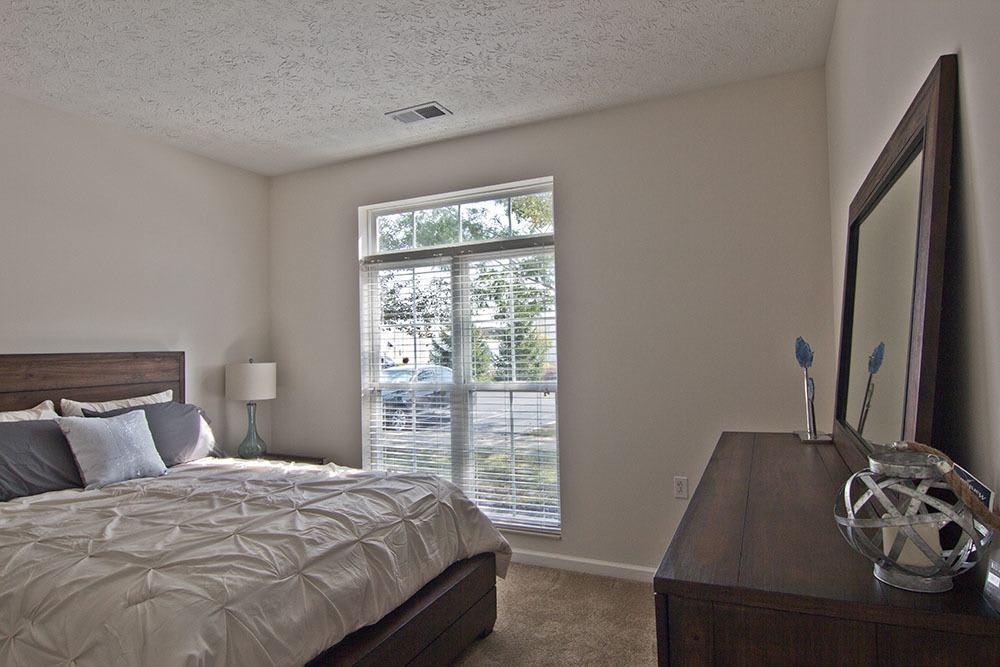 Spacious bedroom at Preston Gardens in Perrysburg, OH
