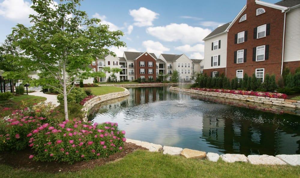 Fountains at Preston Gardens in Perrysburg, OH