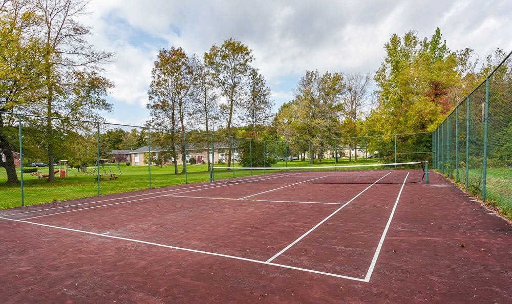 Tennis courts at our apartments in Rochester, NY