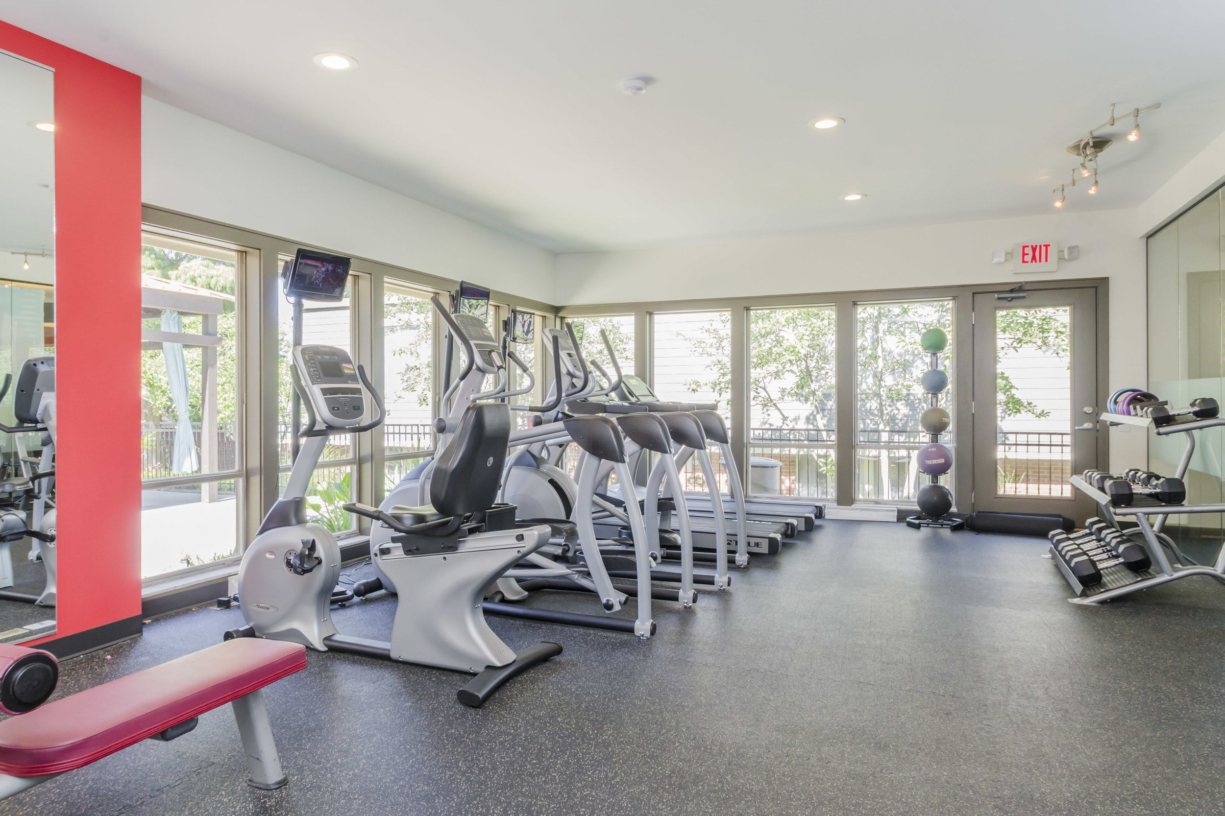 Fitness Center at One Hundred Chevy Chase in Lexington, KY