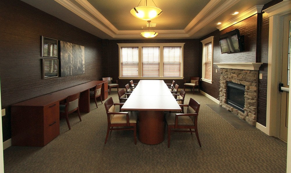 Banquet Room at Preserve at Autumn Ridge in Watertown, NY