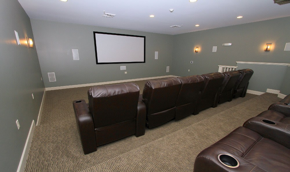 Theater Room at Preserve at Autumn Ridge in Watertown, NY