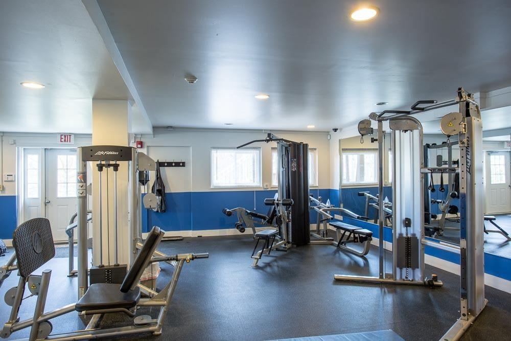 fitness center at Riverton Knolls