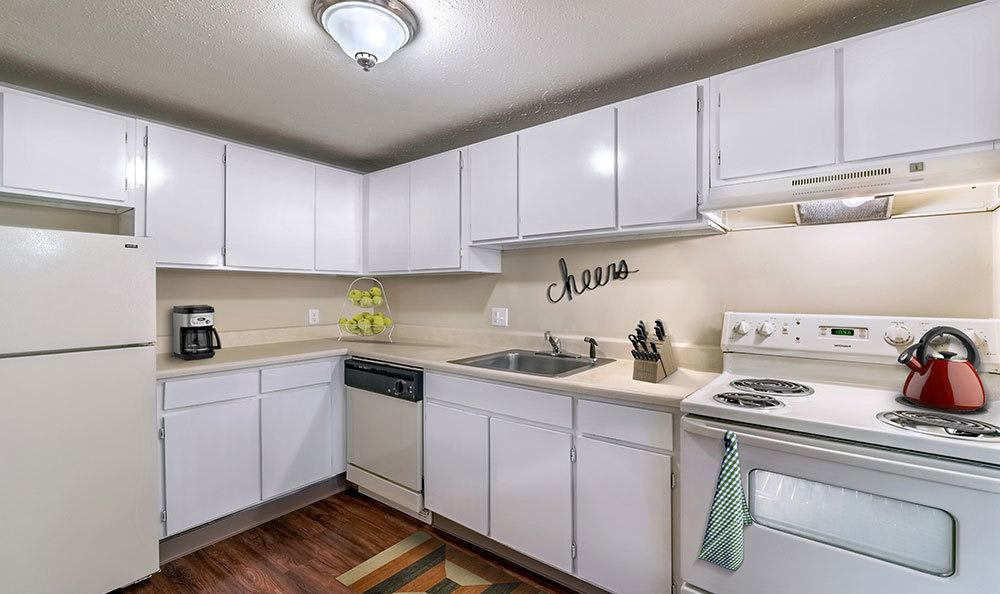 Example kitchen at Park Place of South Park