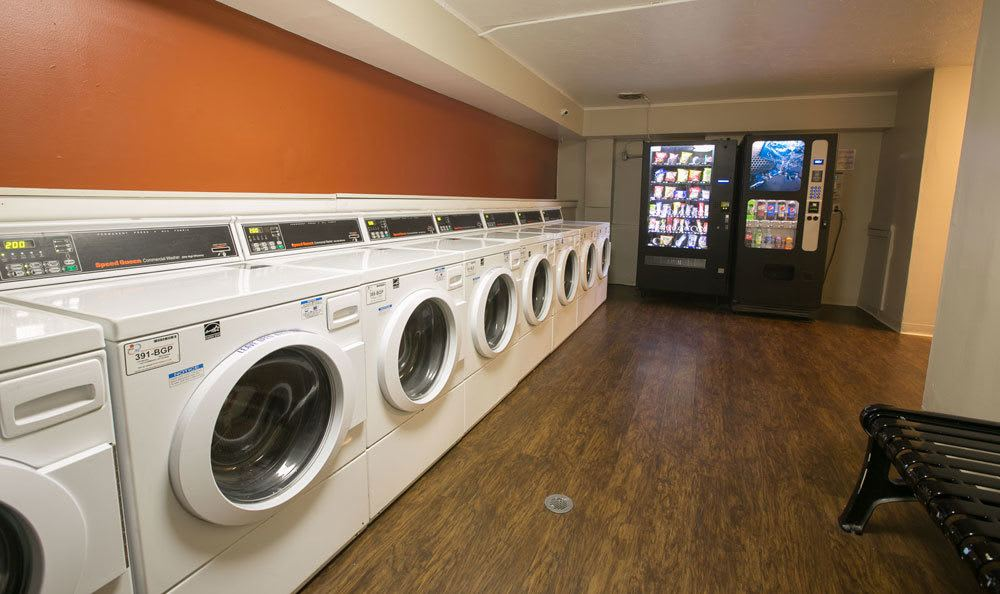 Laundry at Solon Club Apartments in Oakwood Village, OH
