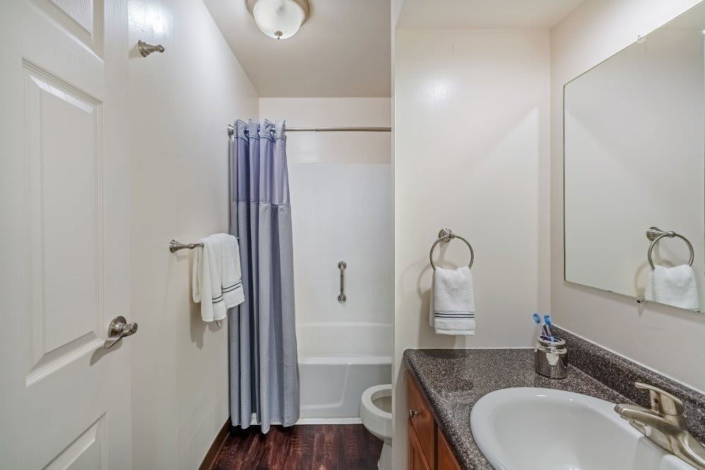 Bathroom at The Cascades Townhomes and Apartments in Pittsburgh, PA