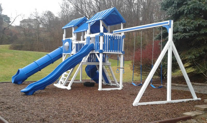 Kids will enjoy The Cascades Townhomes and Apartments Playground in Pittsburgh