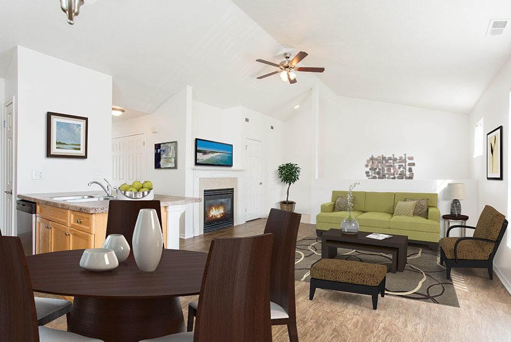 Living Room at Avon Commons in Avon, New York