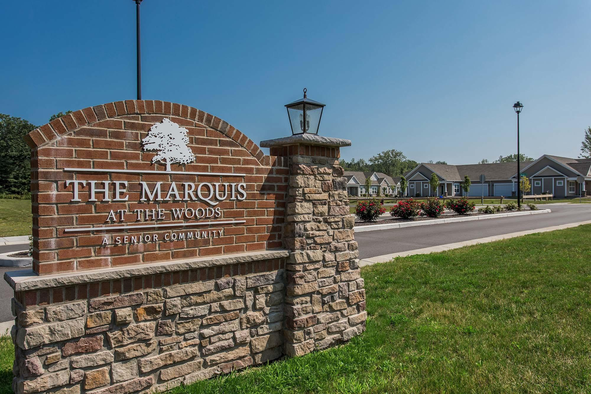 Welcome to Marquis at the Woods in Webster, NY