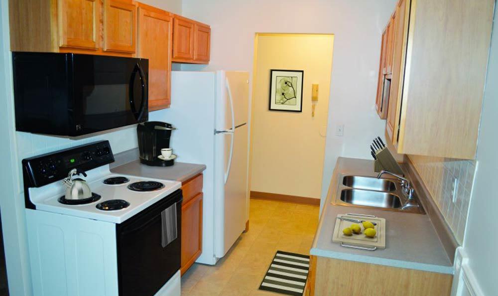 Kitchen at Lake Vista Apartments in Rochester, NY