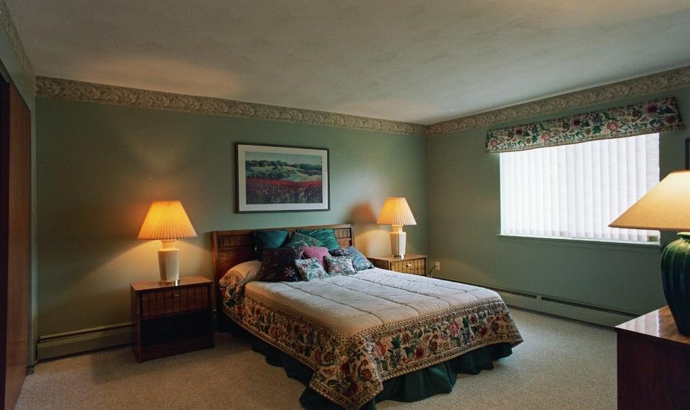 Bedroom at Lake Vista Apartments in Rochester, NY