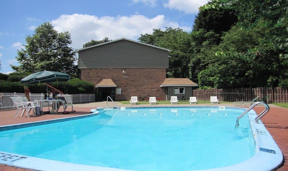 Community Pool at Lake Vista Apartments in Rochester, NY