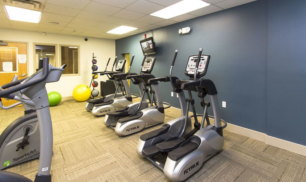 Tonawanda apartments includes a fitness center