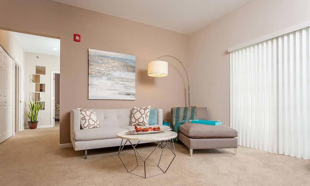 Spacious living room in Canonsburg, PA