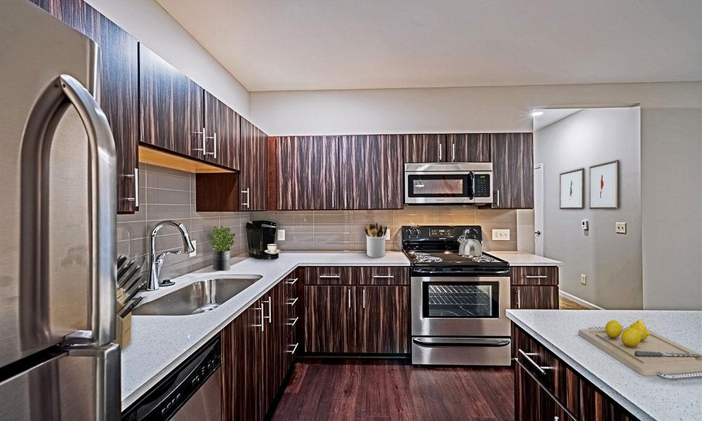 Spacious kitchen in our Canonsburg, PA apartments