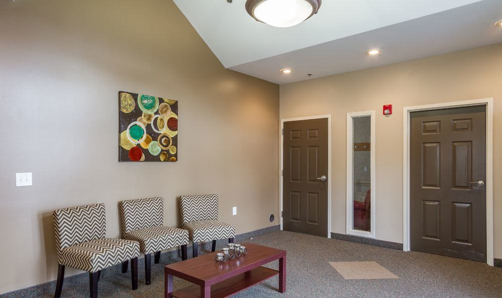 leasing office at our apartments in Fairport