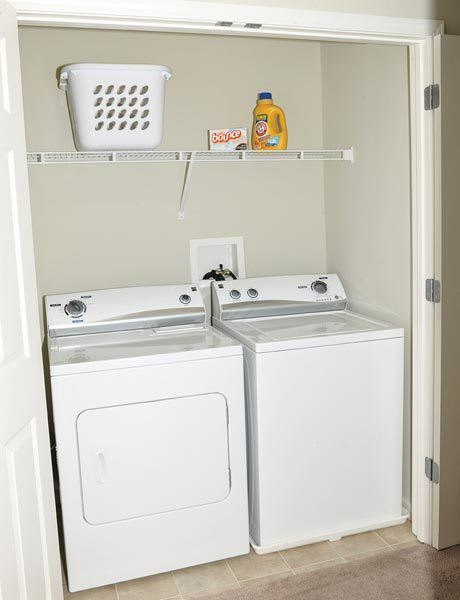 Rivers Pointe Apartments In-home Washer and Dryer Liverpool, NY