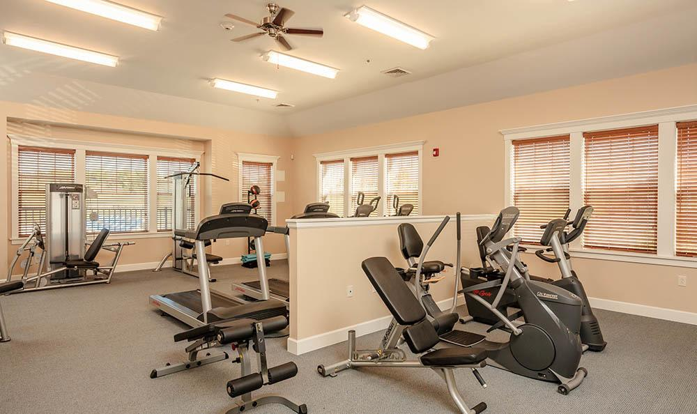 Rivers Pointe Apartments Fitness Center in Liverpool, NY